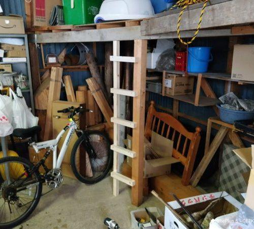 【はしごの作り方】倉庫にはしご作るよ~